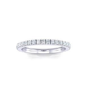 CATHERINE Diamond Wedding Ring In 14K White Gold