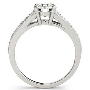 Helena Diamond Engagement Ring in 14K White Gold