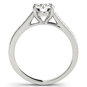 Kate Diamond Engagement Ring in 14K White Gold