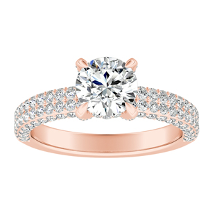 ALEXIA Classic Diamond Engagement Ring In 14K Rose Gold