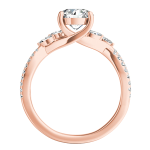 MEADOW Diamond Engagement Ring In 14K Rose Gold