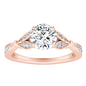 FLEUR Diamond Engagement Ring In 14K Rose Gold