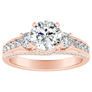 SOPHIE Diamond Engagement Ring In 14K Rose Gold