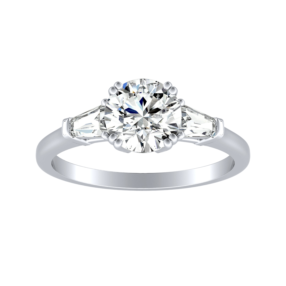 LILIANA Diamond Engagement Ring In 14K White Gold