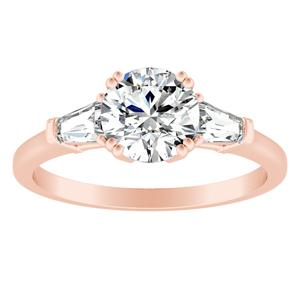 LILIANA Diamond Engagement Ring In 14K Rose Gold