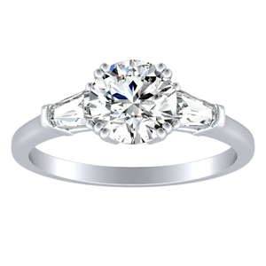 LILIANA Diamond Engagement Ring In 14K White Gold
