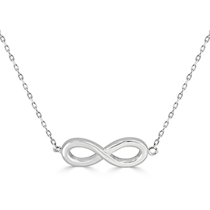 INFINITE LOVE Sterling Silver Infinity Necklace