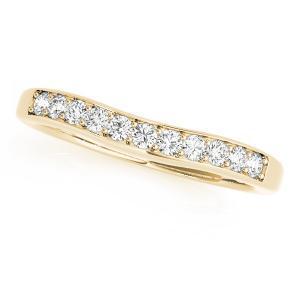 FELICE Classic Diamond Wedding Ring in 14K Yellow Gold