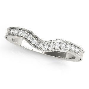 SABRINA Diamond Wedding Ring in 14K White Gold