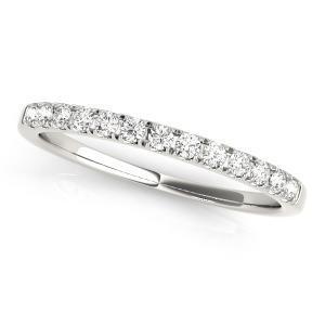 MIA Classic Diamond Wedding Ring in 14K White Gold