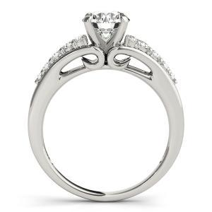Felice Diamond Engagement Ring in 14K White Gold