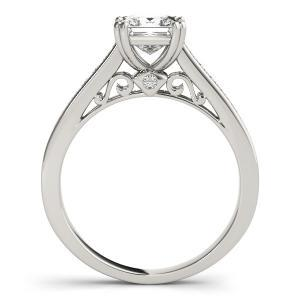 Aster Diamond Engagement Ring in 14K White Gold