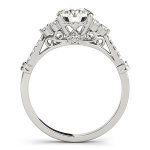 Stella Diamond Engagement Ring in 14K White Gold