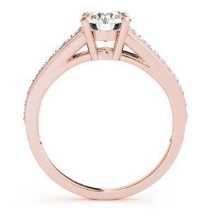 Helena Diamond Engagement Ring in 14K Rose Gold