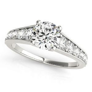 Helena Diamond Engagement Ring in 14K White Gold
