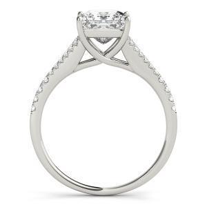 Julia Diamond Engagement Ring with Wedding Ring in 14K White Gold