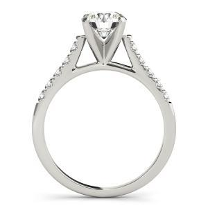 Mia Diamond Engagement Ring with Wedding Ring in 14K White Gold